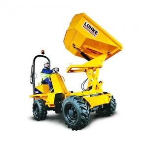 Thwaites 1,5/2,0 tons dumper m/høj- og sidetip