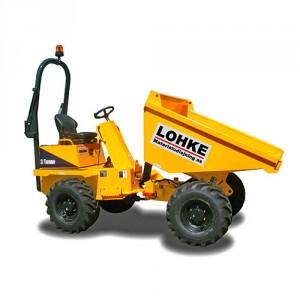 Thwaites 3,0 tons dumper m/høj- og sidetip