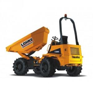 Thwaites 6,0 tons dumper m/sidetip