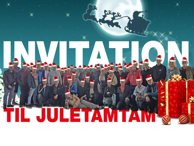 Invitation til juletamtam 2017